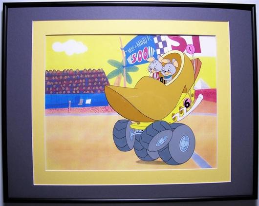 House Of Toons Animation Art Gallery Fender Bender 500