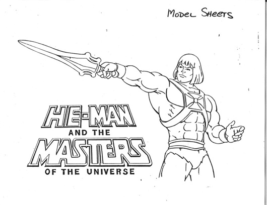 he man and the masters of the universe coloring pages - grizzlor 39 s he man thundercats cels he man and the