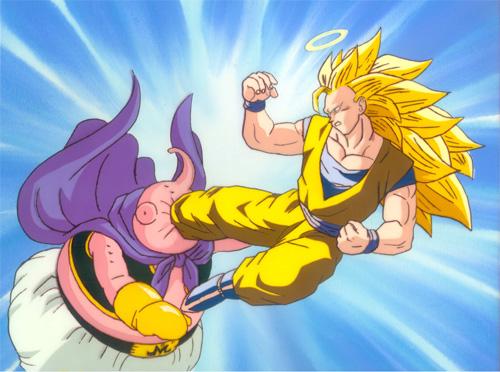Pastatdude's Cels - Dragonball Z - Goku vs. Buu