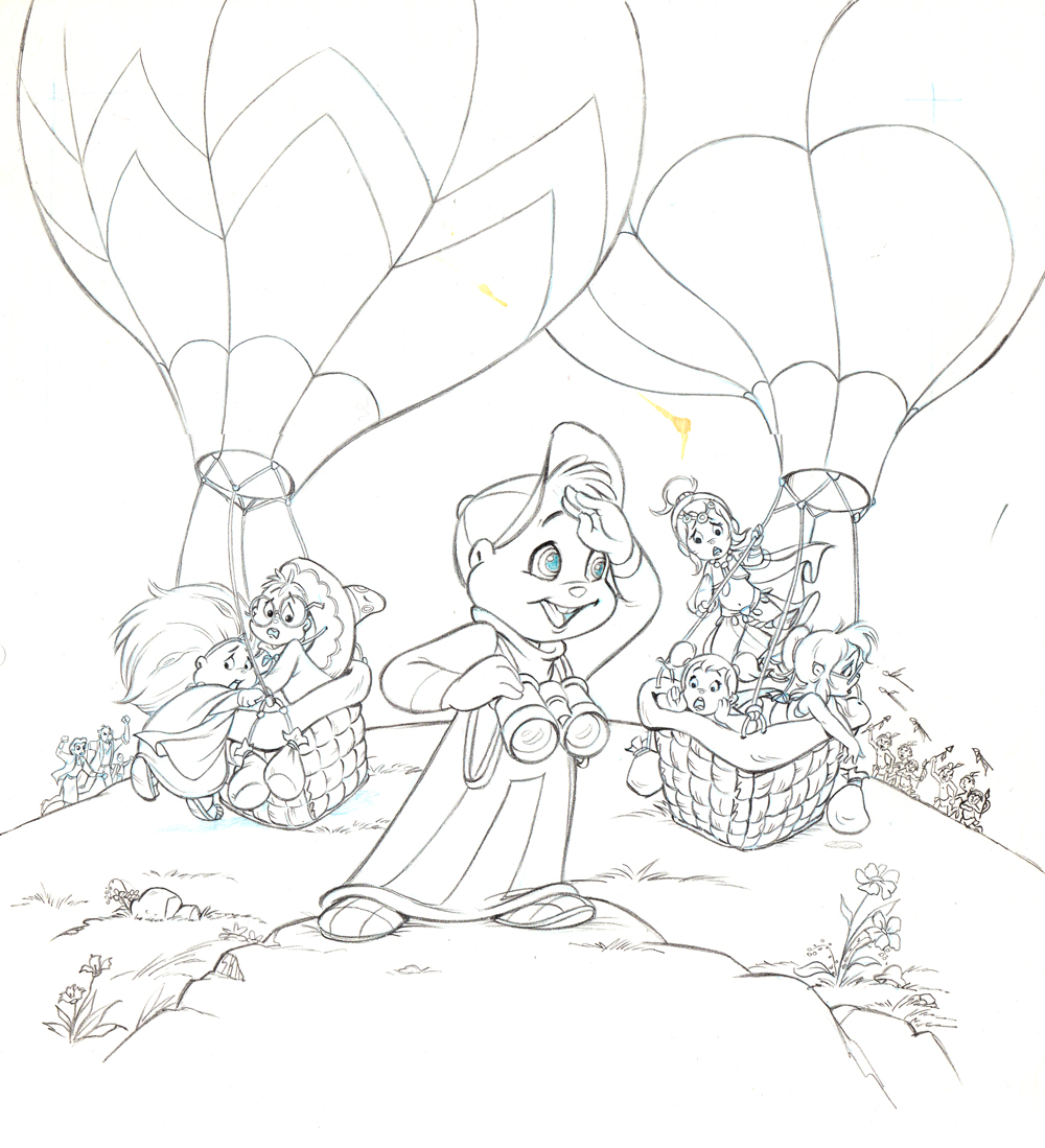 Free Coloring Pages Of Chipettes