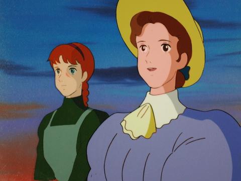 Anne of green gables for Anne la maison aux pignons verts anime